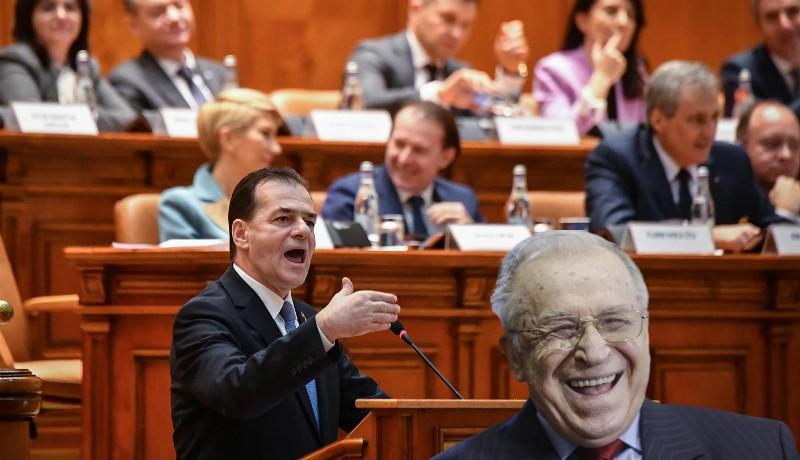Ludovic Orban két lábbal szállt bele Ion Iliescuba a bányászjárás 30. évfordulóján