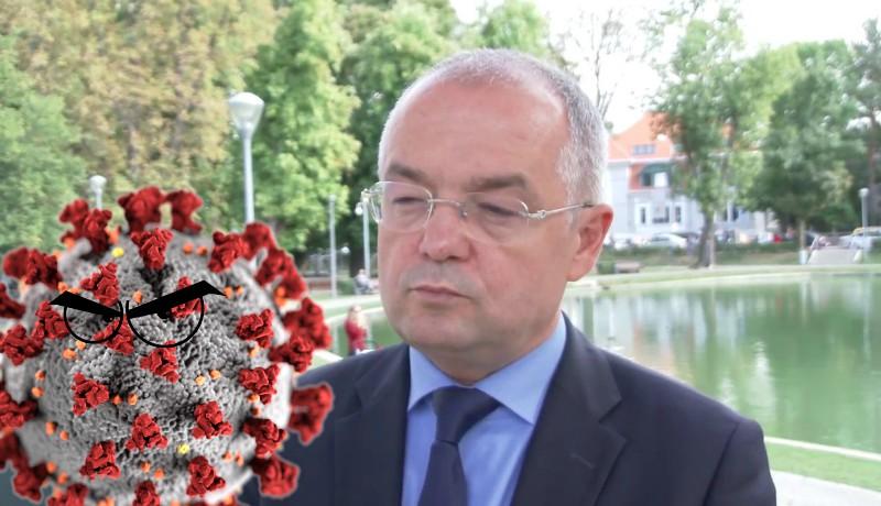 Rendesen tarol a koronavírus a kolozsvári városházán, de Boc szerint nem kell berezelni. Egyelőre.