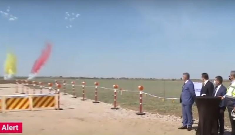 Míg Ön ebédelt, Ludovic Orban tiszteletére tűzijátékot rendeztek. Délben!!! (VIDEÓval)
