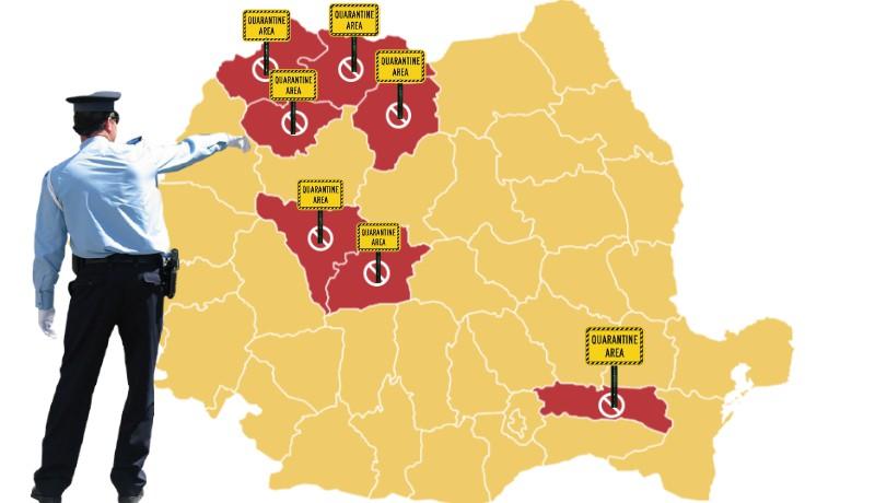 Csütörtöktől már hét megyeszékhelyen kell elviselni a karantén szigorát, ebből hat erdélyi :(