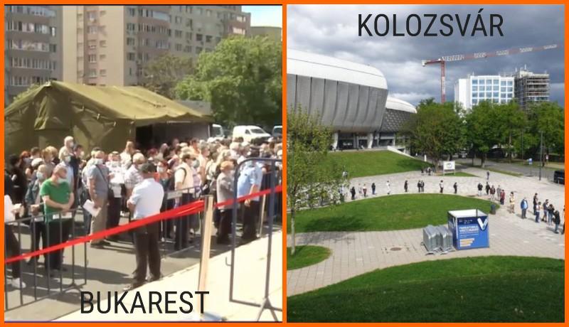 Kolozsvár sorban állásból is példát mutat Bukarestnek – elkezdődött az oltásmaraton