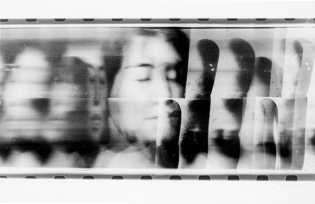 Paolo Gioli, Volto attraverso la propria mano (Face Through Her Own Hand), 1996