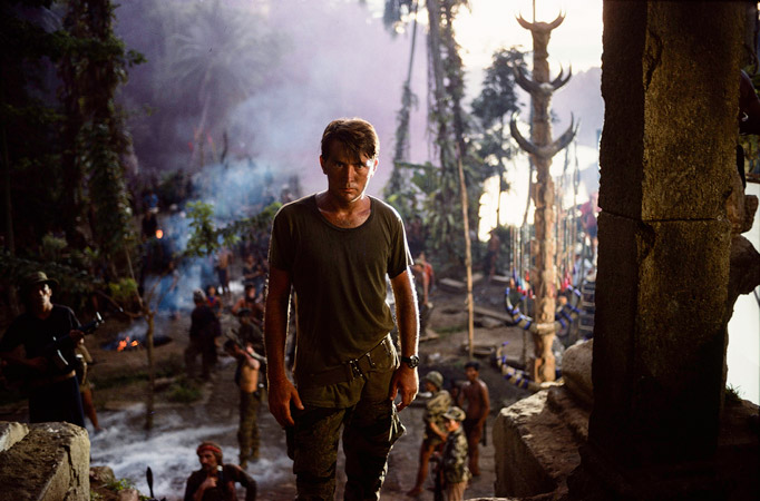 Chas Gerretsen setfoto Apocalypse Now