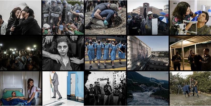 World Press photo nominees genomineerden