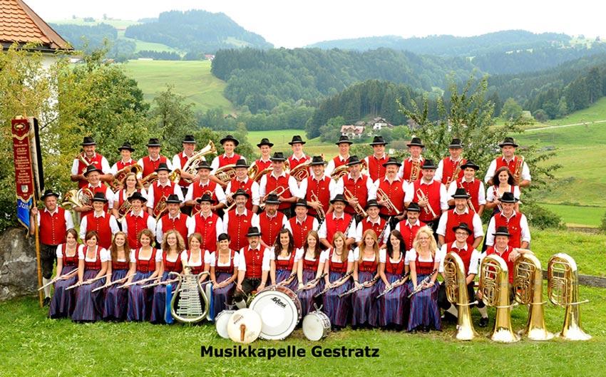 Musikkapelle Gestratz  Foto Atelier Hecke