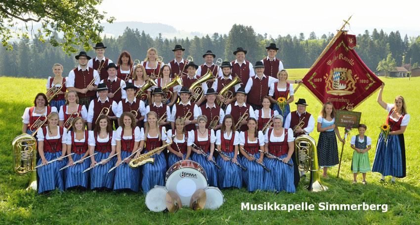 Musikkapelle Simmerberg  Foto Atelier Hecke