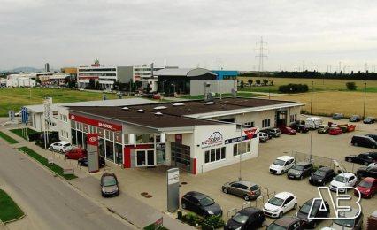Luftbild von Auto Zsoldos