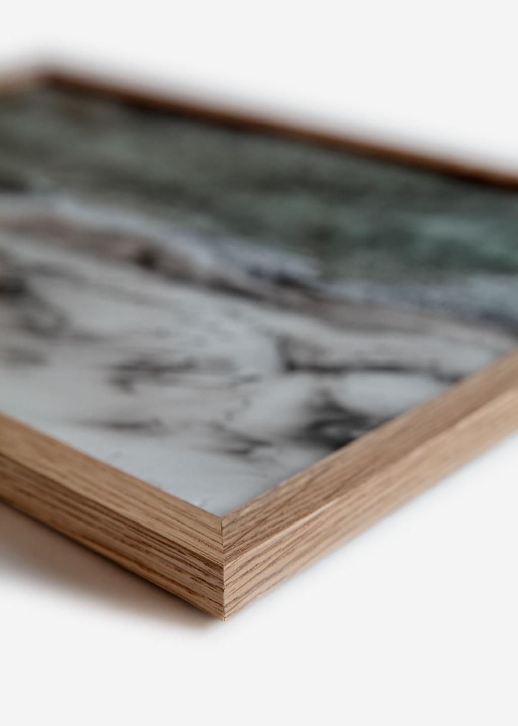 Poster Frame Natural Oak