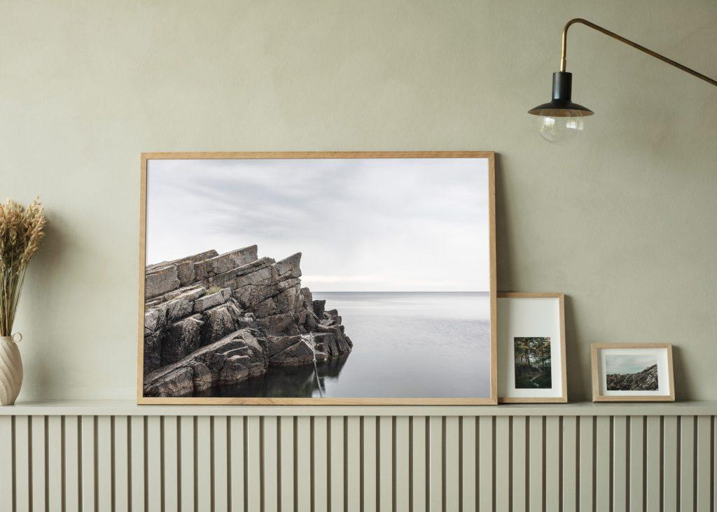 Living room decor poster