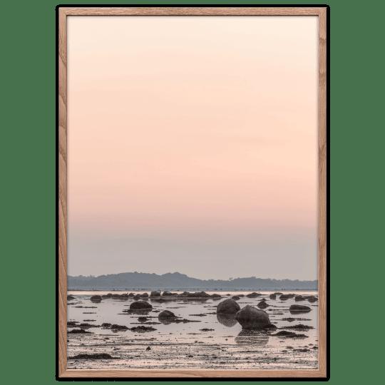 Solnedgang plakat