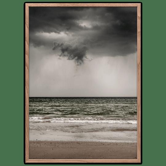 Blokhus strand plakat