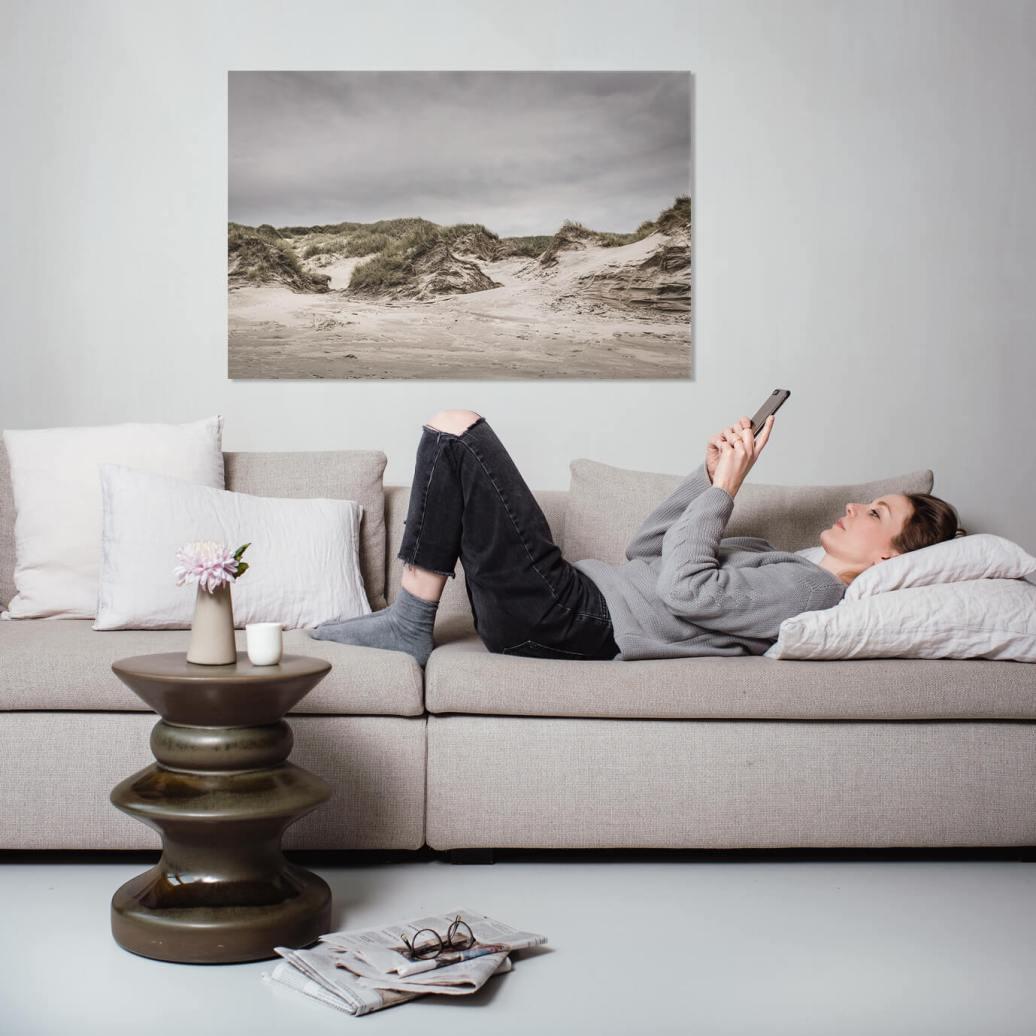 Fotokunst af danske klitter