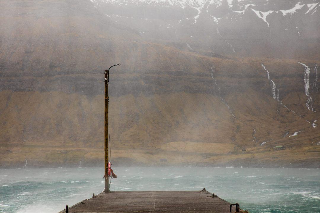 Storm Færøerne Fotokunst