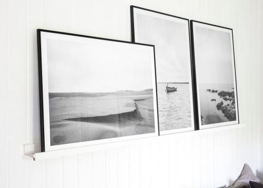 Sort-hvid fotokunst