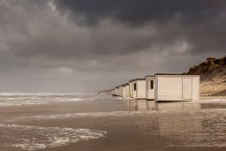 Fotokunst strandhuse Blokhus