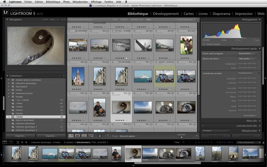 programe editare foto Lightroom 5