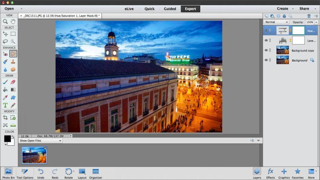 programe editare foto adobe elements 13