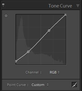 Lightroom develop Tonal Curves 2