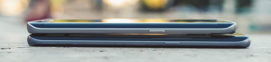 Samsung S7 vs S6 Size