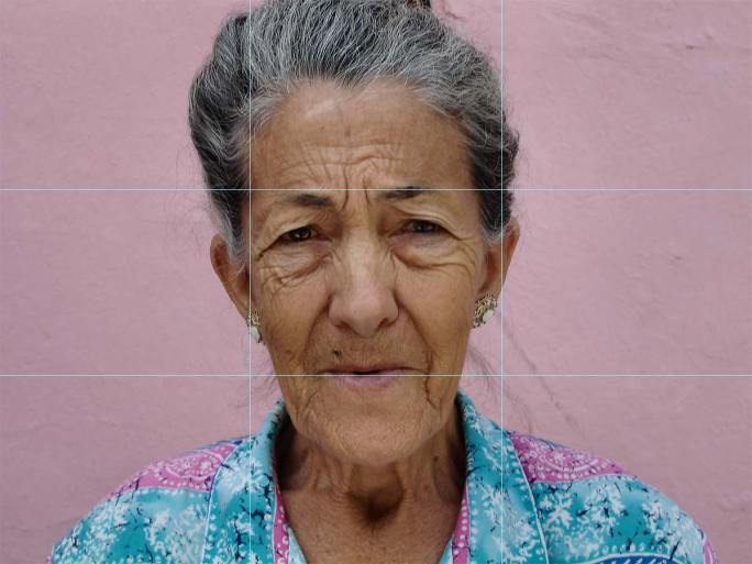 Fotografie Tipps Drittel-Regel-Oma