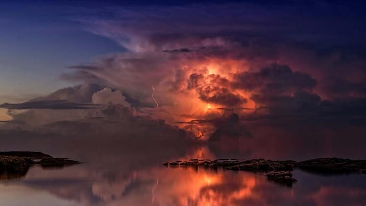 Landschaftsfotografie-Gewittersturm