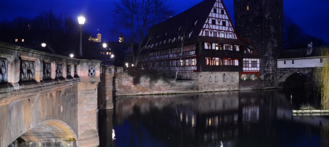 Nachtspaziergang durch Nürnberg
