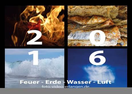 Feuer - Erde - Wasser - Luft