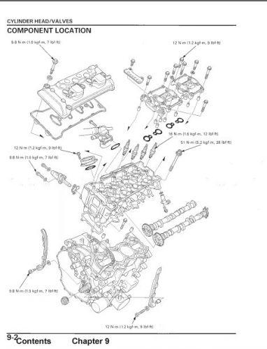 Инструкция по ремонту HONDA CBR 1000 RR 2004 (service