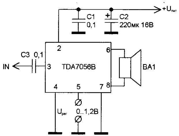 TDA7056B PDF DOWNLOAD