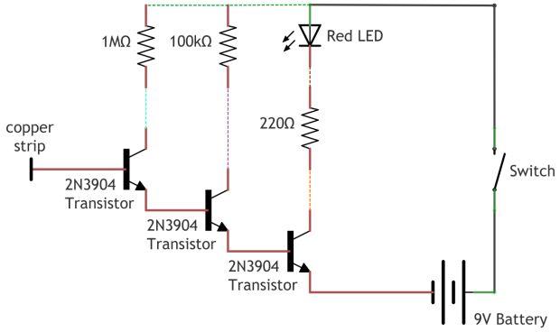 Detector de voltaje sin contacto / Paso 2: Diagrama del