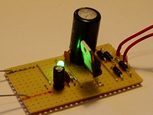 To 24v Simple Dc Converter Circuit Power Supply Diagram And Circuit