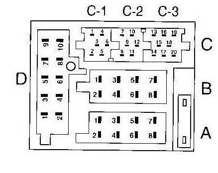 vw t5 radio wiring diagram emergency lighting key switch agregar entrada aux y parlantes de su coche / paso 2: conectar los canales - askix.com