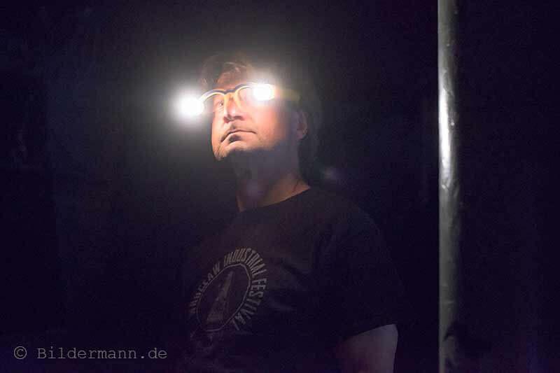 Detlef Schweiger von ''SARDH'' am 26.09.2015 beim ''Tower Transmissiosn Festival''