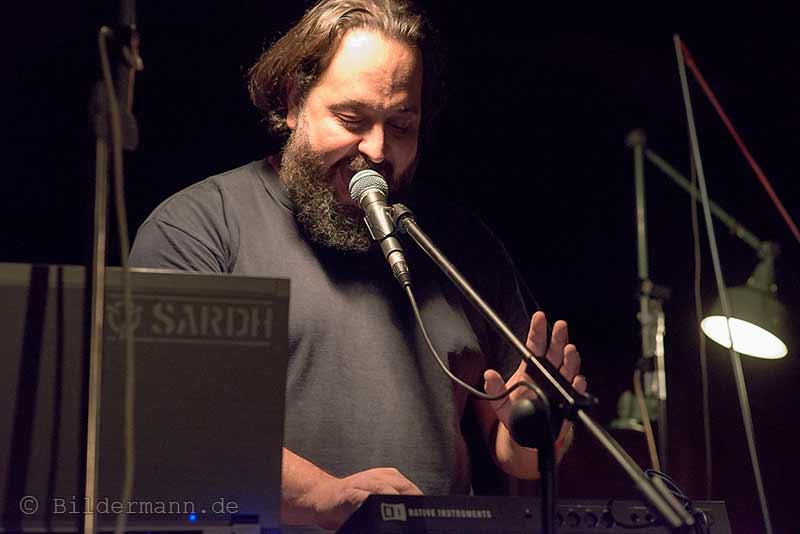 ''SARDH'' am 26.09.2015 beim ''Tower Transmissiosn Festival''