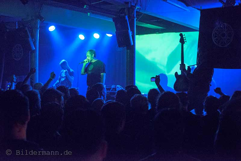 ''Brighter Death Now'' am 26.09.2015 beim ''Tower Transmissiosn Festival''