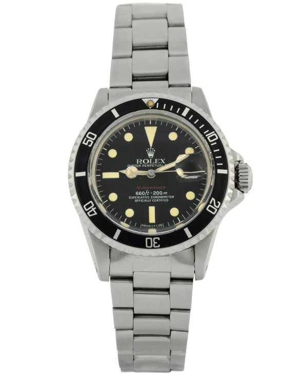 Rolex Oyster Perpetual Date Submariner 660 Ft 200