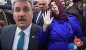 Muhsin Yazıcıoğlu'nun Eşi, BBP Lideri Destici'nin Üzerine Yürüdü
