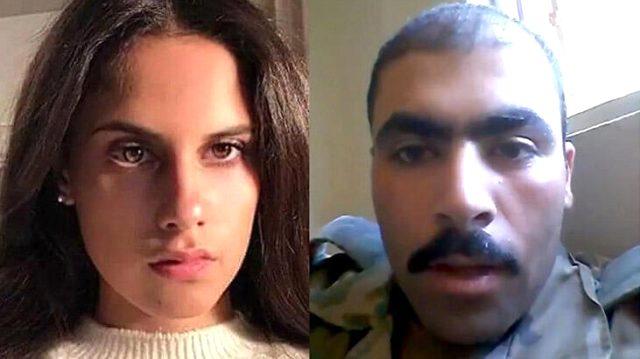 Esed'in 16 yaşındaki kızına aşkını ilan eden asker, kayıplara karıştı