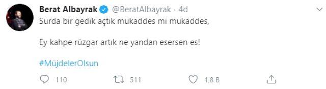 Erdoğan'ın açıklayacağı müjde öncesi Bakan Albayrak'ın yaptığı paylaşım milyonların heyecanına heyecan kattı