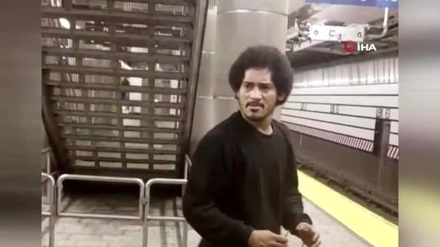 New York'ta metroda tecavüz girişimi! Herkesin gözü önünde saldırdı