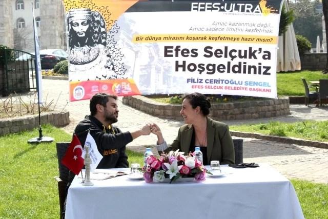 Selçuk 4. Efes Ultra Maratonu için hazır