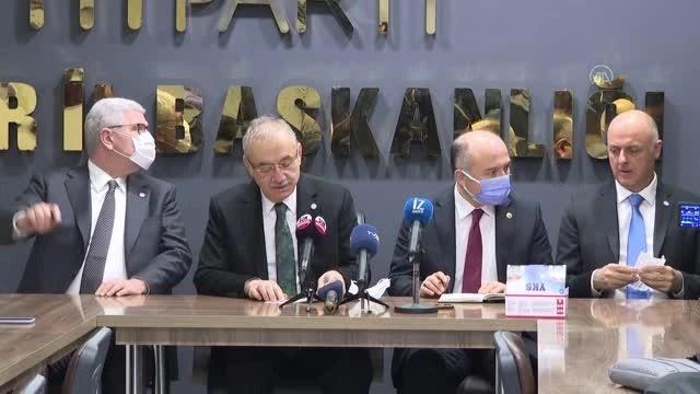 """İYİ Parti Grup Başkanı Tatlıoğlu: """"Millet İttifakı, başarısını Türkiye'nin siyasal iklimini değiştirerek taçlandıracak"""""""
