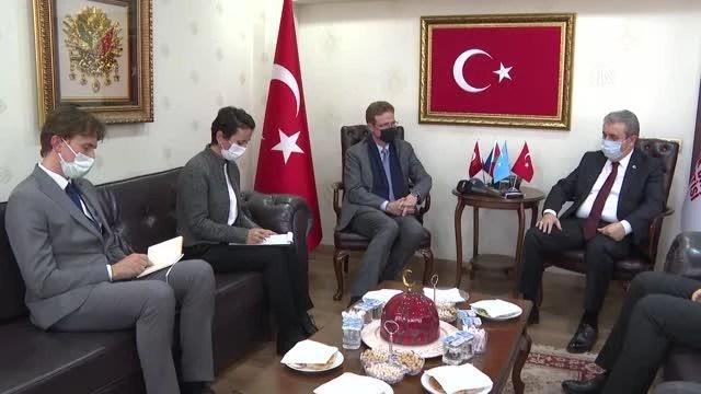 Destici, AB Türkiye Delegasyonu Başkanı Meyer-Landrut ile görüştü