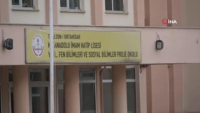 Trabzon'da 54 lise öğrencisi karantinaya alındı