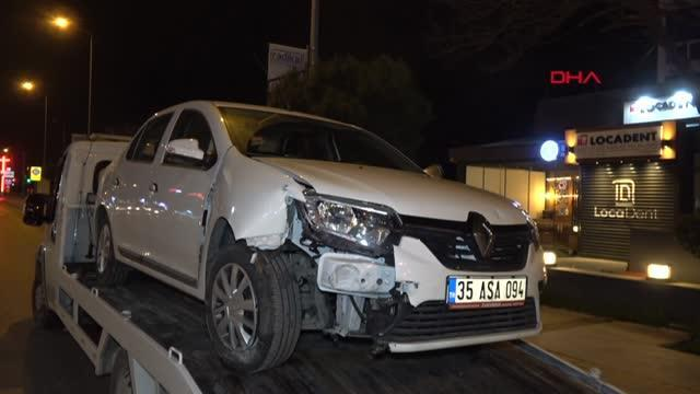Son dakika haberi! İzmir'de zincirleme kaza Polis memuru ve 2 kişi yaralandı