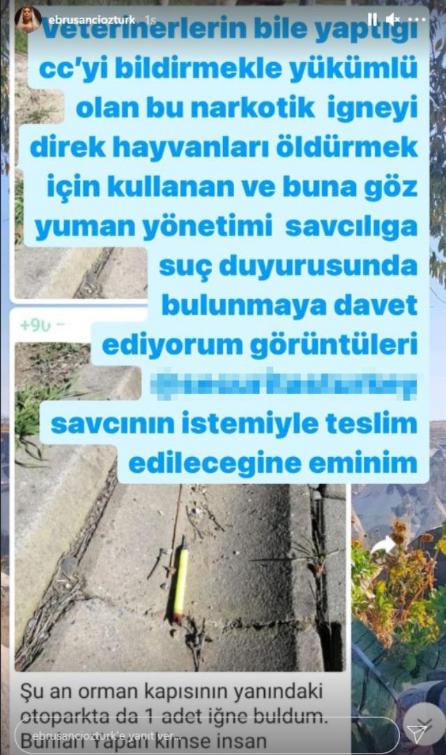Futbolcu Alpaslan Öztürk'ün eşi Ebru Şancı, sosyal medyada isyan etti: 2500 TL aidat ödediğimiz o güvenlikli site yönetimi istifa edin