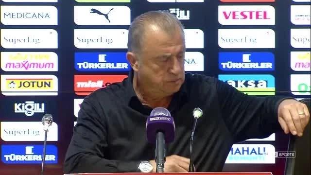 Göztepe-Galatasaray maçının ardından - Fatih Terim