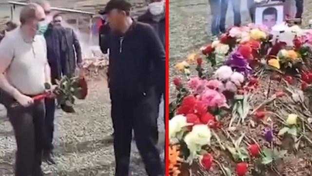 Ermenistan Başbakanı Paşinyan'a asker yakınından soğuk duş: Mezara çiçek bırakmasını engelledi
