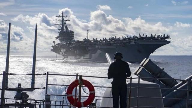 Savaşın ayak sesleri! ABD vazgeçti ama İngilizler devrede: Karadeniz'e çıkarma yapıyorlar