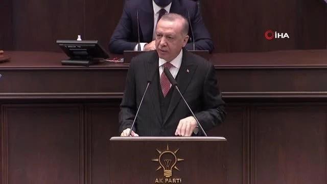 """Cumhurbaşkanı Erdoğan: """"'Nereye harcandı' diye yaygarası yapılan 128 milyar dolar ne buhar olmuştur ne de haksız ve hukuksuz yere herhangi..."""